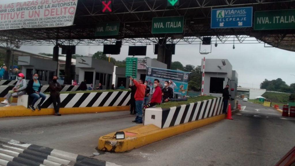 Detenidas, más de 94 mil toneladas por bloqueo a vías del tren en Michoacán