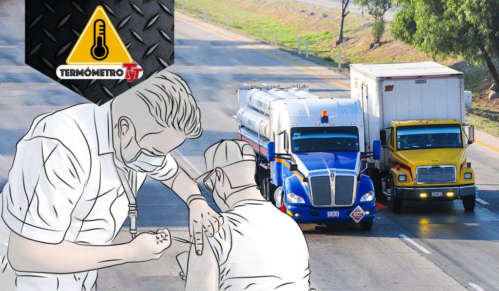Así avanza la vacunación en las empresas transportistas