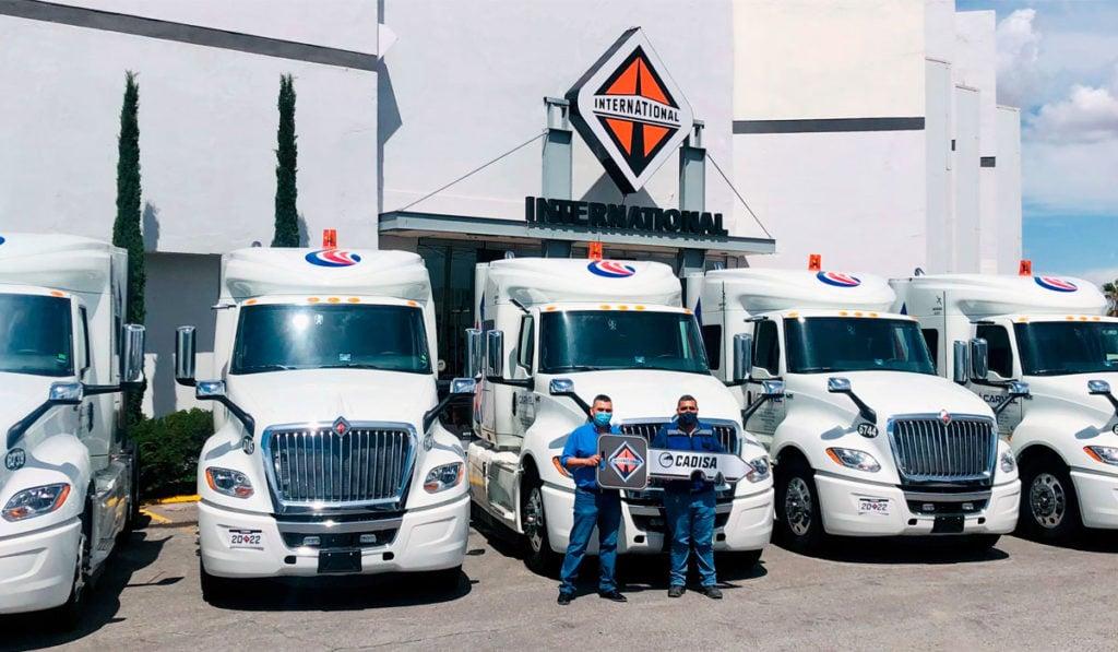 Cadisa entrega 64 unidades International al norte del país