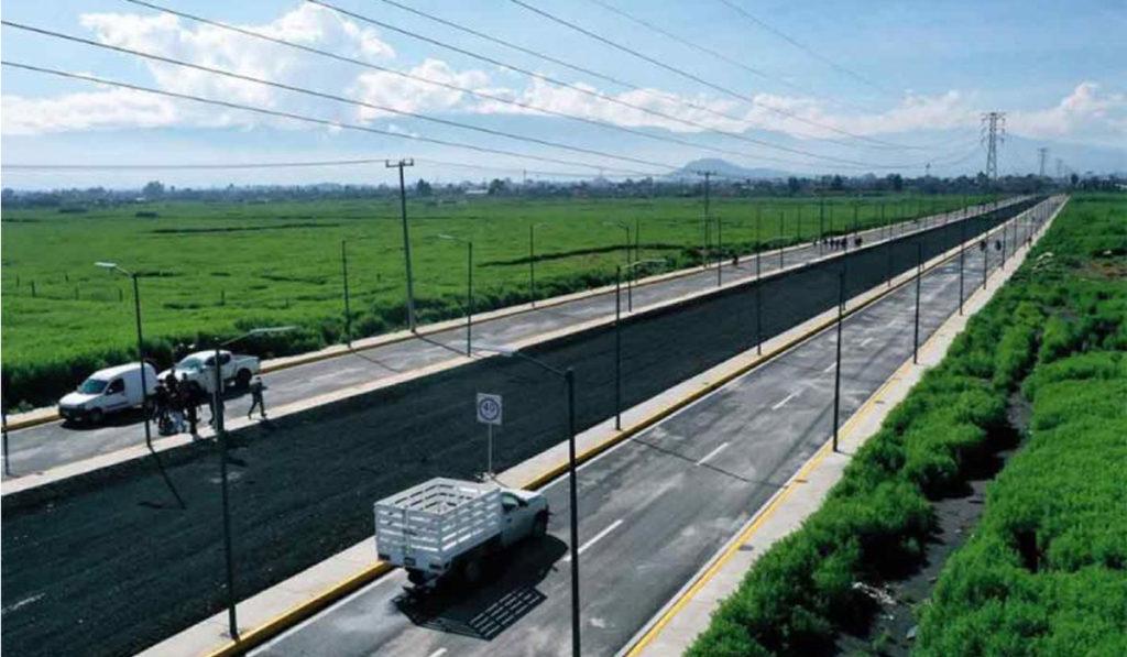 Entregan vialidad de interconexión en Chalco, Edomex
