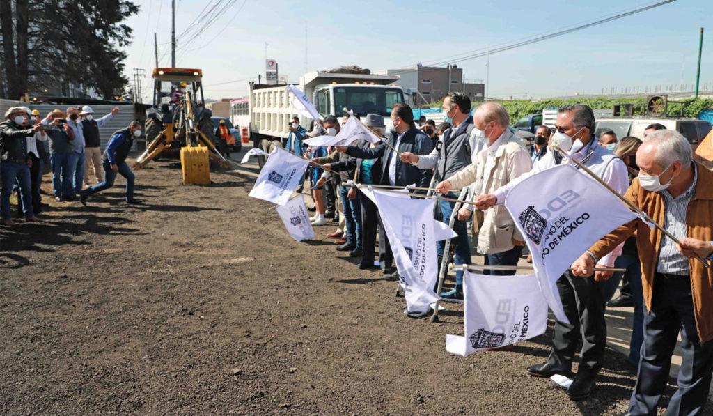 Inician modernización de Avenida Las Partidas en el Edomex
