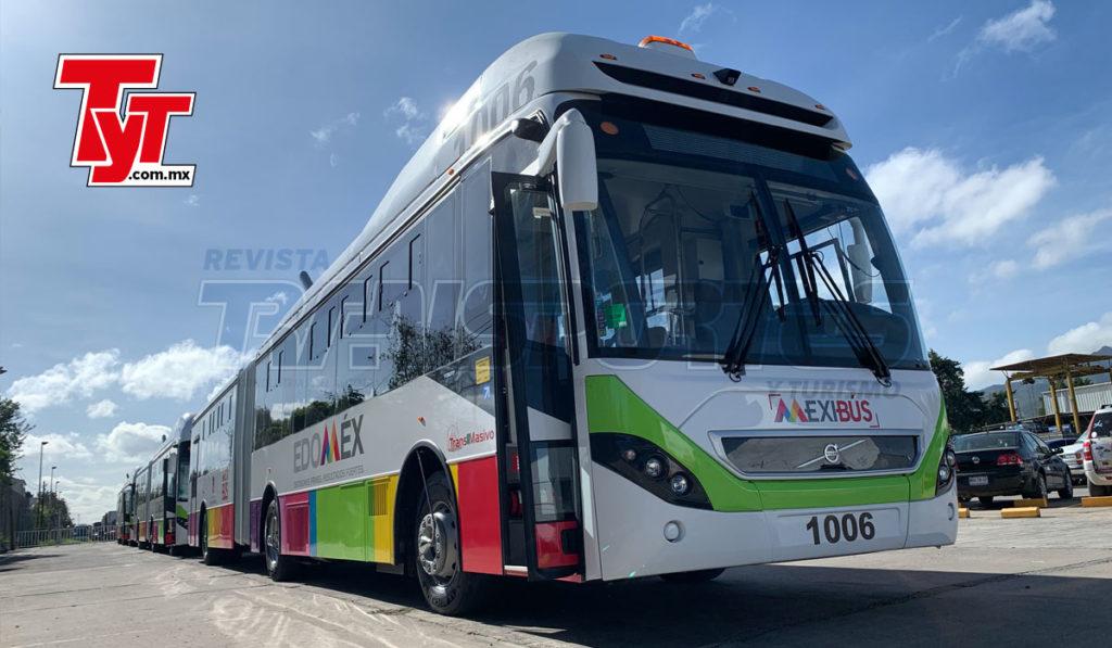 Volvo Buses entrega 12 articulados al Mexibús