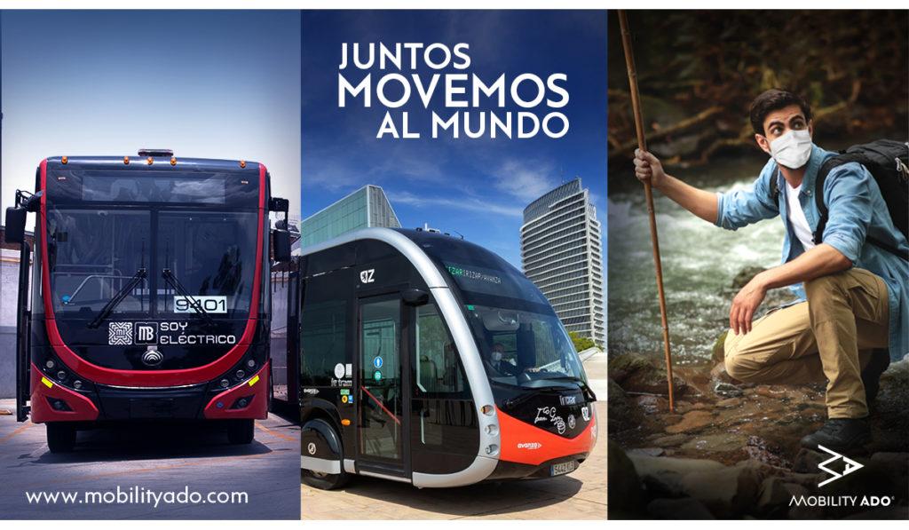 Juntos Movemos al Mundo, la iniciativa sustentable de Mobility ADO