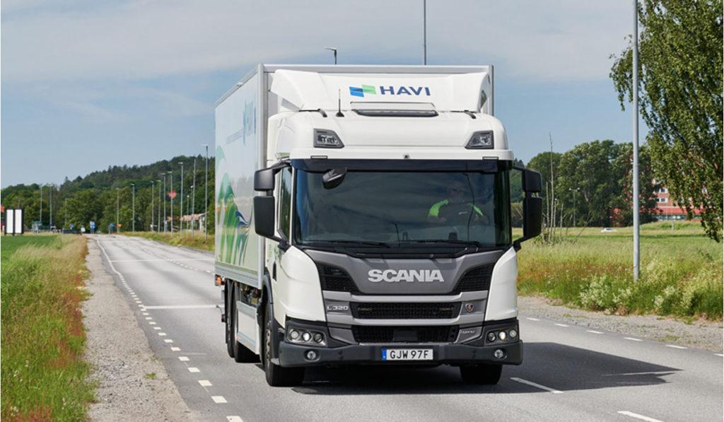 Scania entrega camión híbrido enchufable para investigación en Suecia
