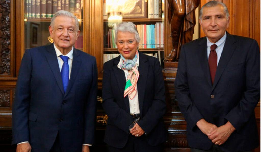 Olga Sánchez Cordero deja Segob; llega el gobernador de Tabasco