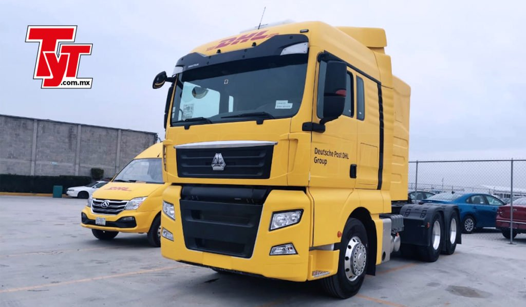Llegan 20 camiones a gas para servicios DHL y esto es lo que debes saber