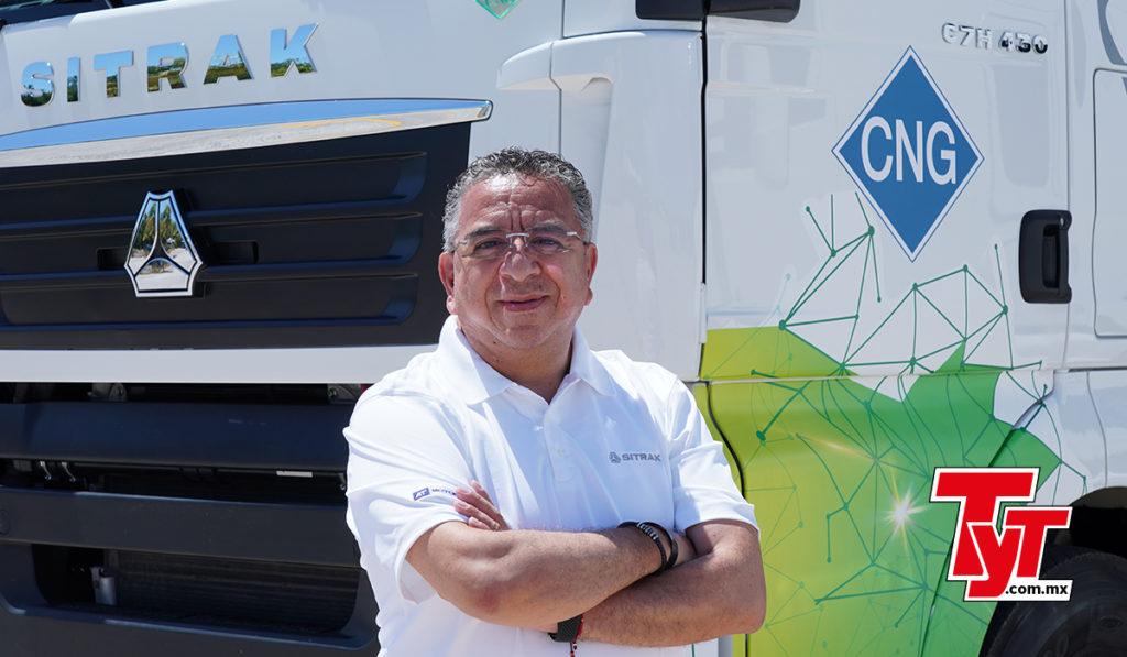 Flavio Rivera, director general de AT Motors