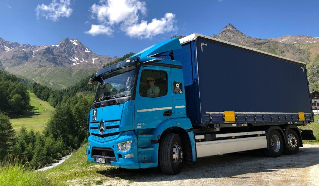 Mercedes-Benz eActros trucks