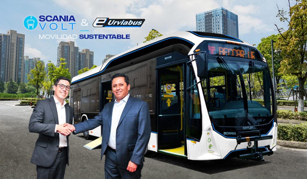 Scania Volt, el primer autobús eléctrico carrozado en México
