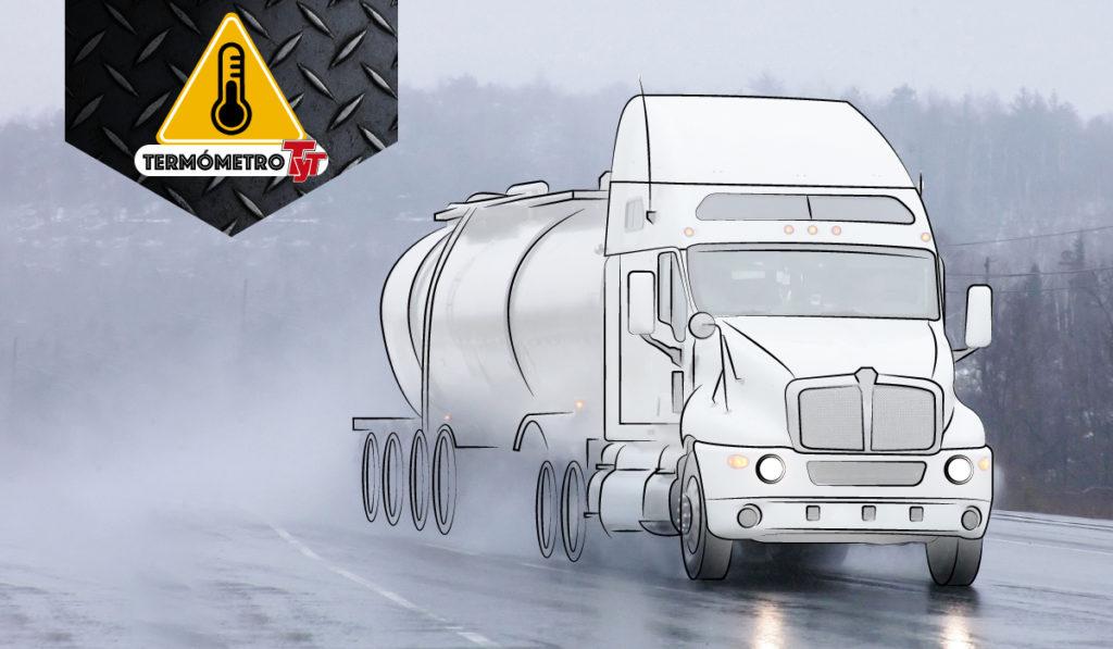 ¡Aguas!, así sortean transportistas el tiempo de lluvias