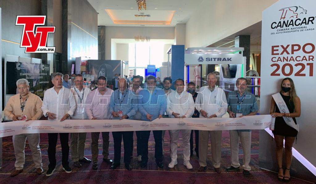 Inauguran Convención Canacar 2021