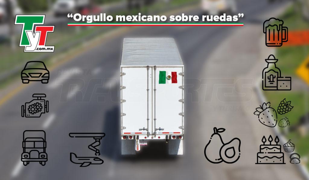 El autotransporte, al volante de las principales exportaciones de México