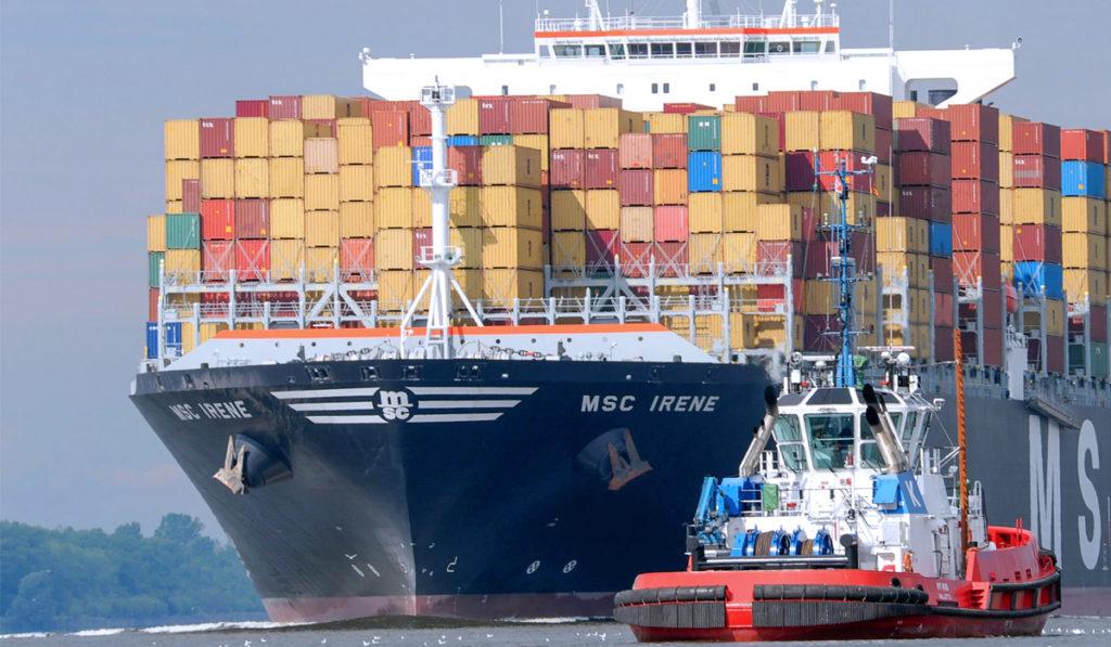 Carga en puertos, sin anclarse a la recuperación