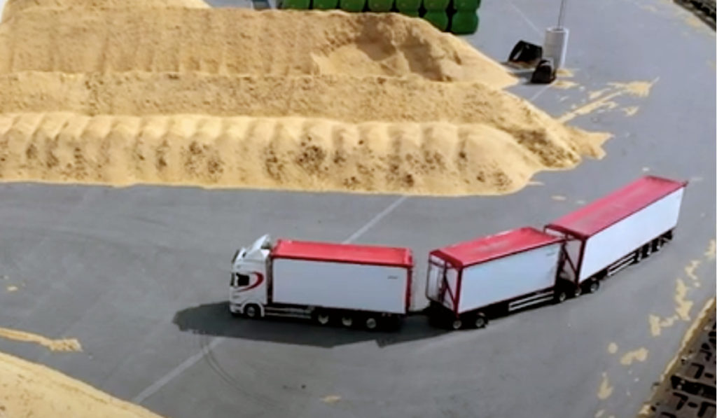 Scania mejora 30% capacidad del transporte, con 12 ejes en Suecia