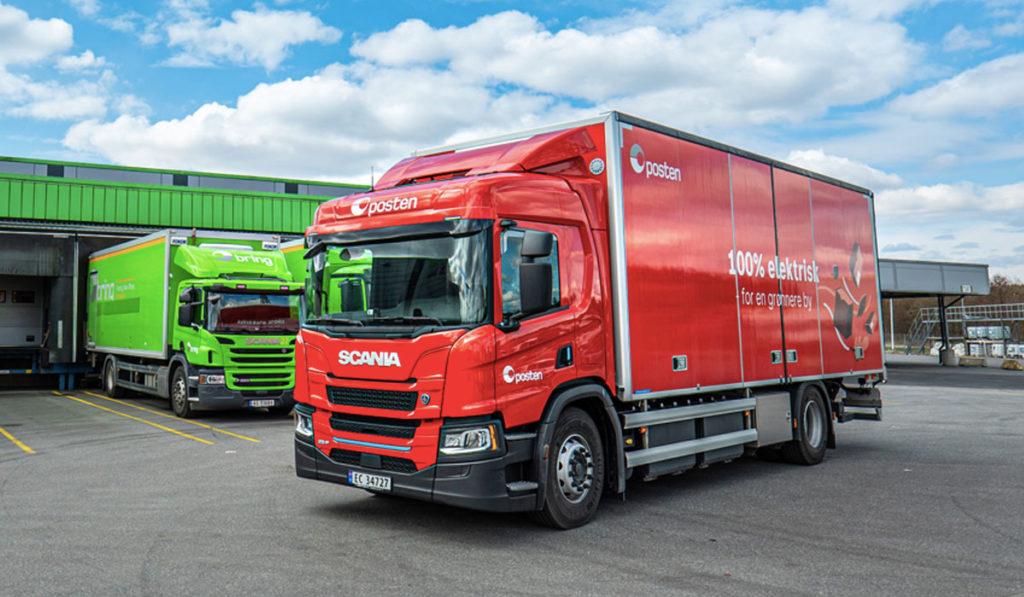 Scania pone a rodar un camión 100% eléctrico en Noruega