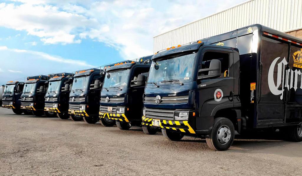 VW Camiones y Buses entrega 281 unidades a Grupo Modelo