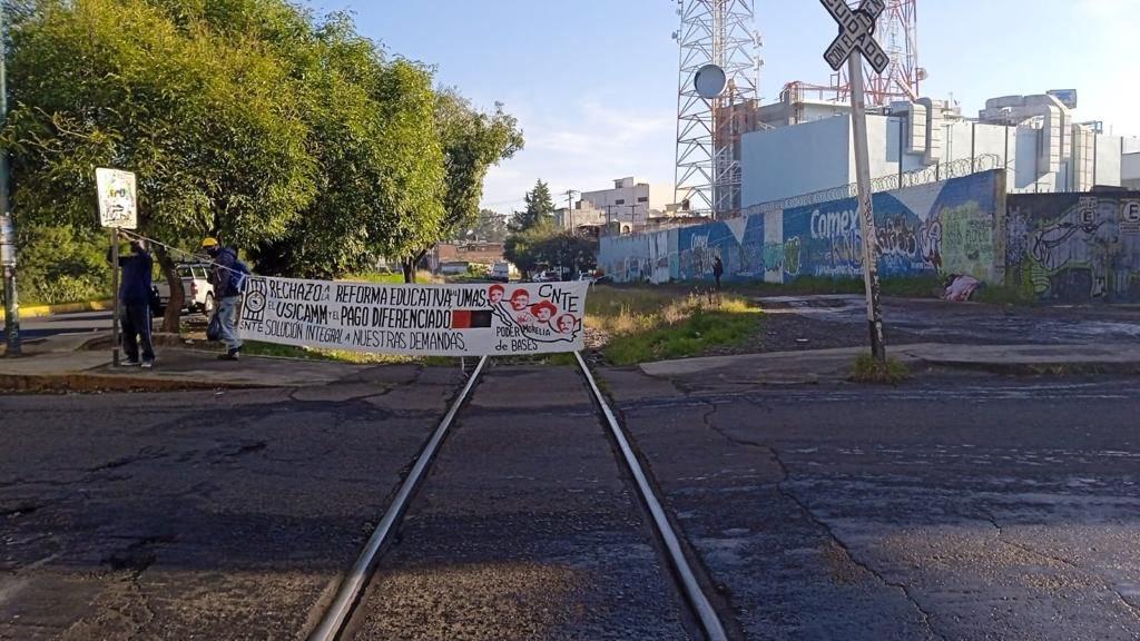 Bloqueo del tren en Michoacán, próximo a resolverse: AMLO