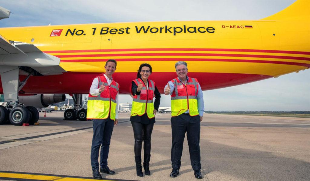 DHL Express, en la cima del ranking Great Place to Work