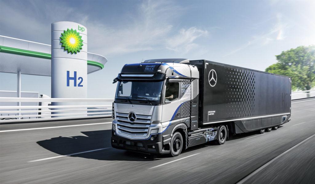 Daimler Truck y BP aceleran la adopción de tecnologías a hidrógeno