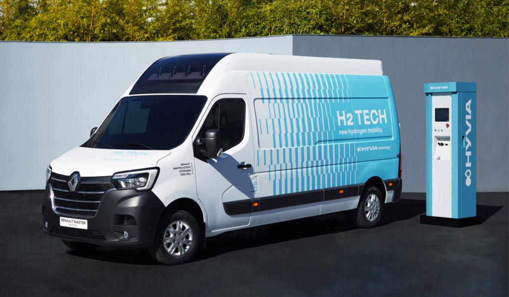 Renault presenta su primer vehículo comercial a hidrógeno