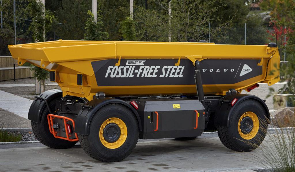 Volvo lanza el primer vehículo del mundo fabricado con acero libre de fósiles