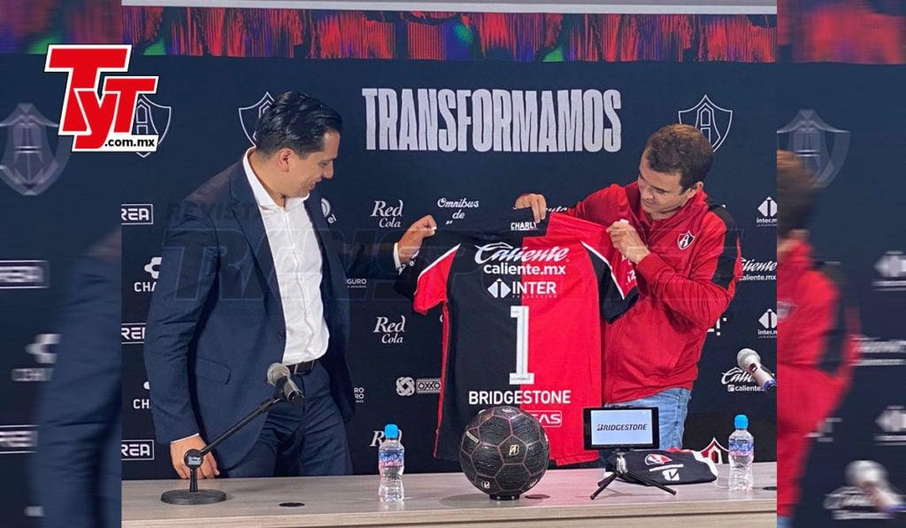 Bridgestone, refuerzo de lujo para el Atlas en el futbol mexicano