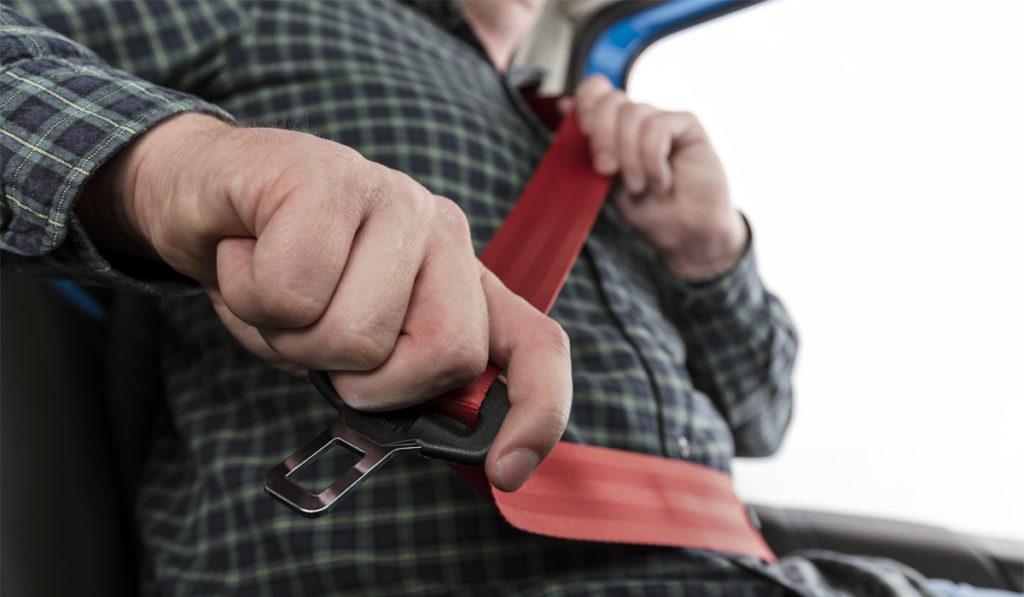 No usar cinturón de seguridad, principal infracción en Semana del Conductor Seguro