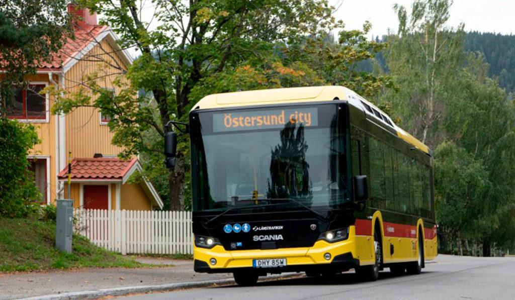 Scania avanza hacia el transporte sin fósiles en Suecia