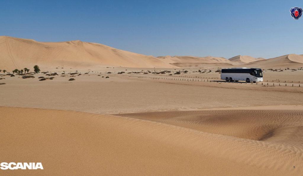 Scania fortalece su oferta para transporte de personal de minería