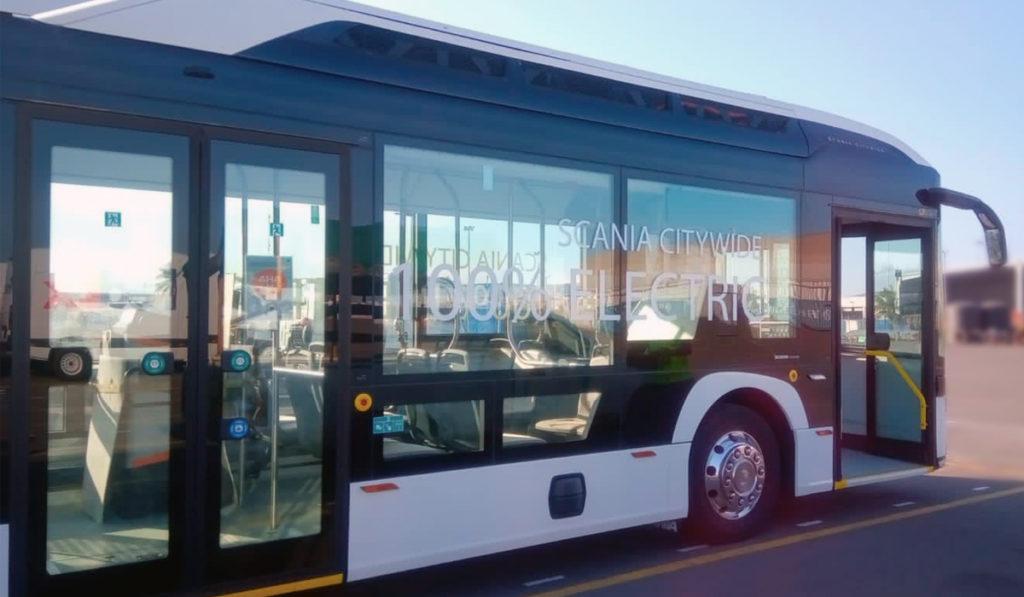 Ya está en México el bus eléctrico Scania Volt